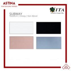 Kita Keramik Subway Non Bevel 10x20cm