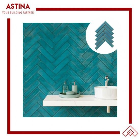 Mosaic Tiles Dekorasi Keramik Arla Tosca 24x20cm (32.5x145mm)